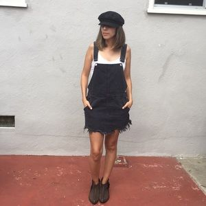 Free People Torn Up Jumper/Overalls